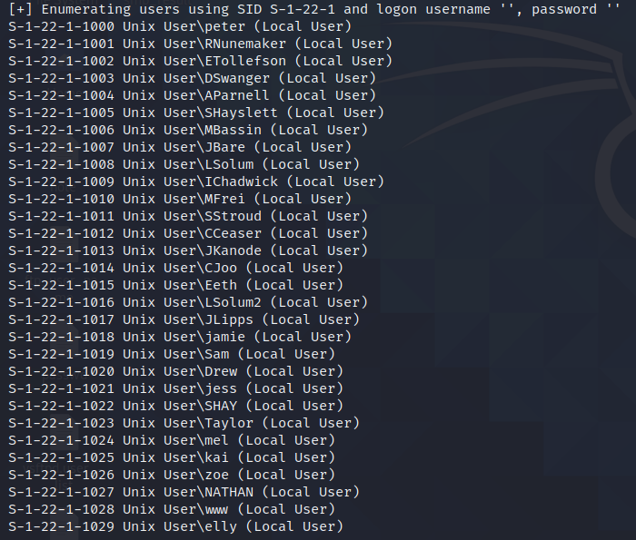 enum4linux-users